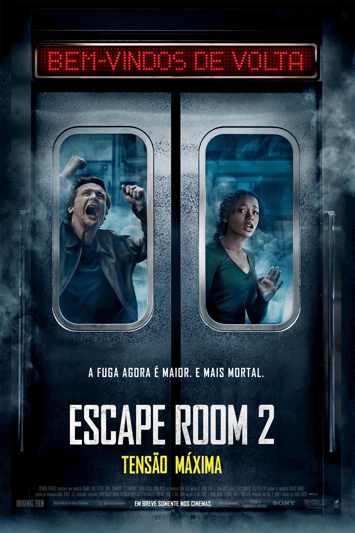 Escape Room 2: Tensão Máxima | Sony Pictures Brazil